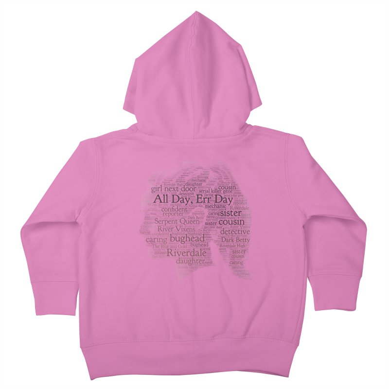 Betty All Day, Err Day Kids Toddler Zip-Up Hoody by Comic Book Club Official Shop