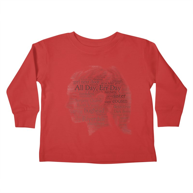Betty All Day, Err Day Kids Toddler Longsleeve T-Shirt by Comic Book Club Official Shop