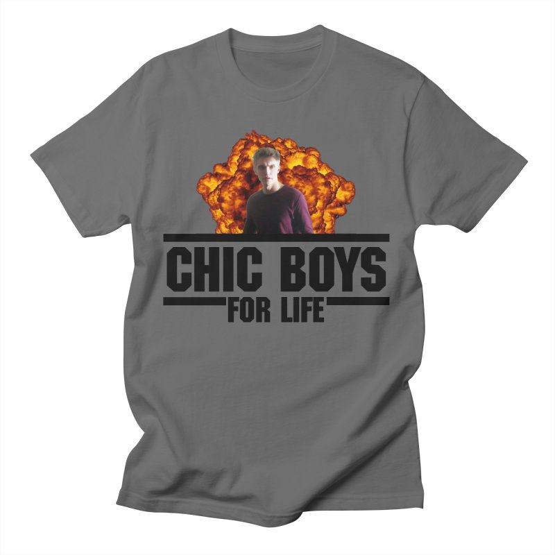 Chic Boys For Life Men's T-Shirt by Comic Book Club Official Shop