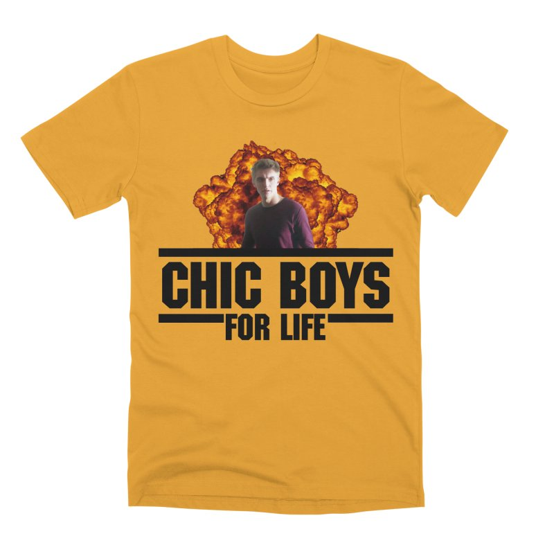 Chic Boys For Life Men's Premium T-Shirt by Comic Book Club Official Shop