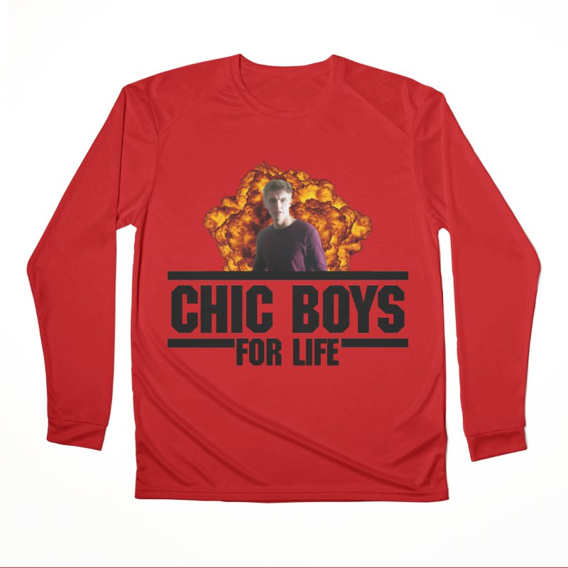 Chic Boys For Life Women's Performance Unisex Longsleeve T-Shirt by Comic Book Club Official Shop