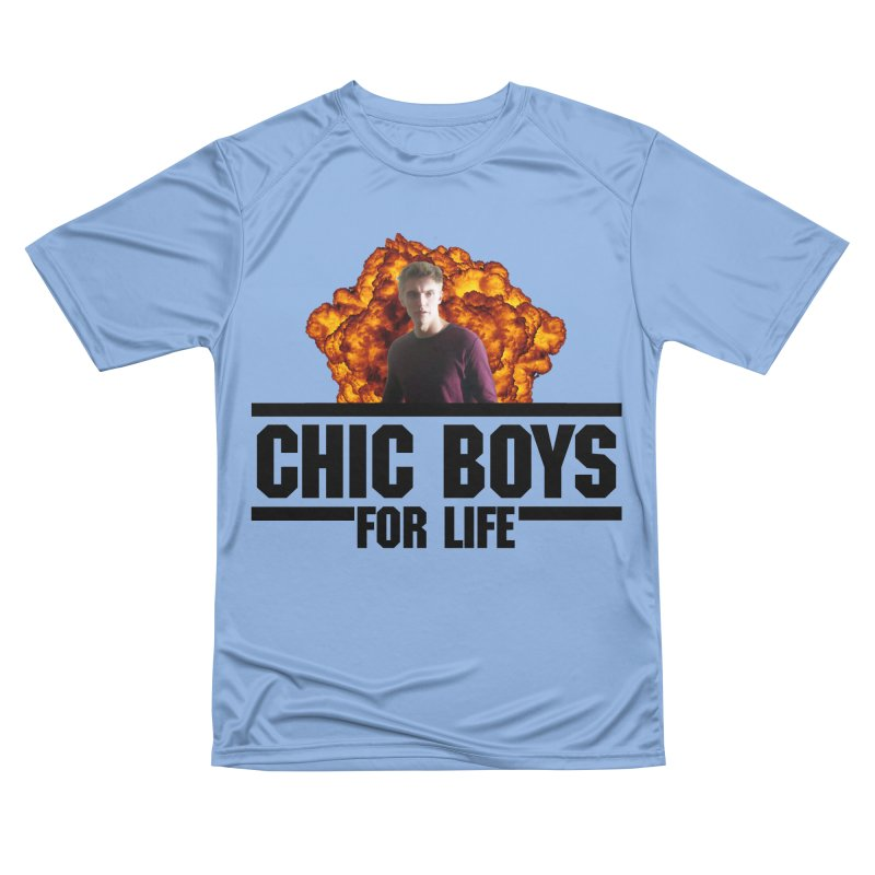 Chic Boys For Life Women's T-Shirt by Comic Book Club Official Shop