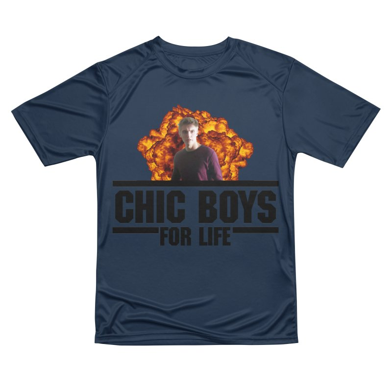 Chic Boys For Life Men's Performance T-Shirt by Comic Book Club Official Shop