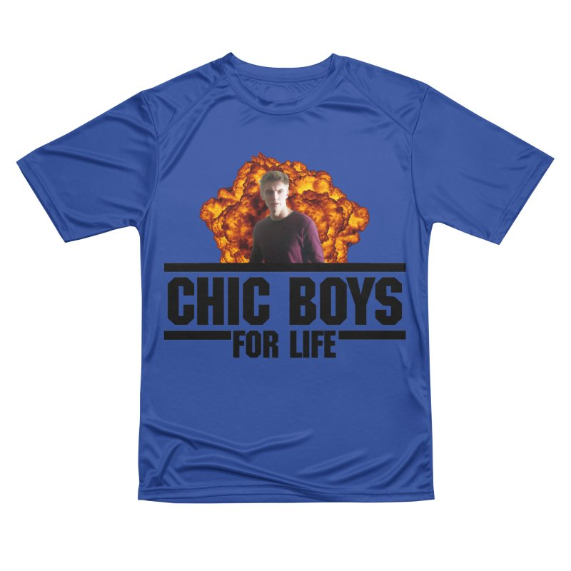 Chic Boys For Life Women's Performance Unisex T-Shirt by Comic Book Club Official Shop