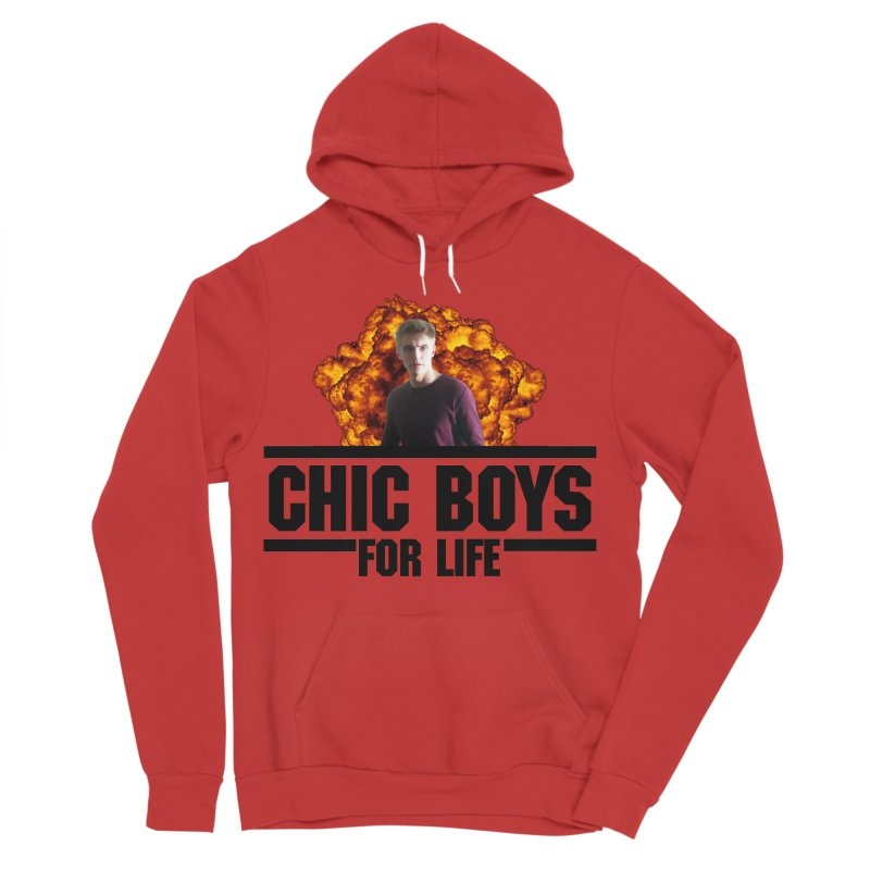 Chic Boys For Life Women's Sponge Fleece Pullover Hoody by Comic Book Club Official Shop