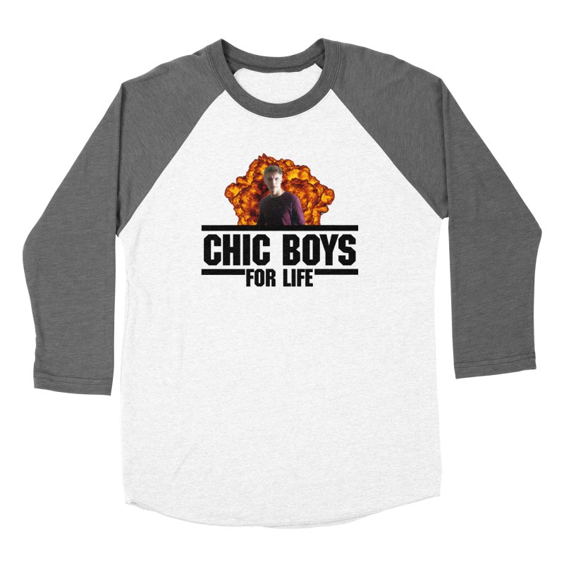 Chic Boys For Life Women's Longsleeve T-Shirt by Comic Book Club Official Shop