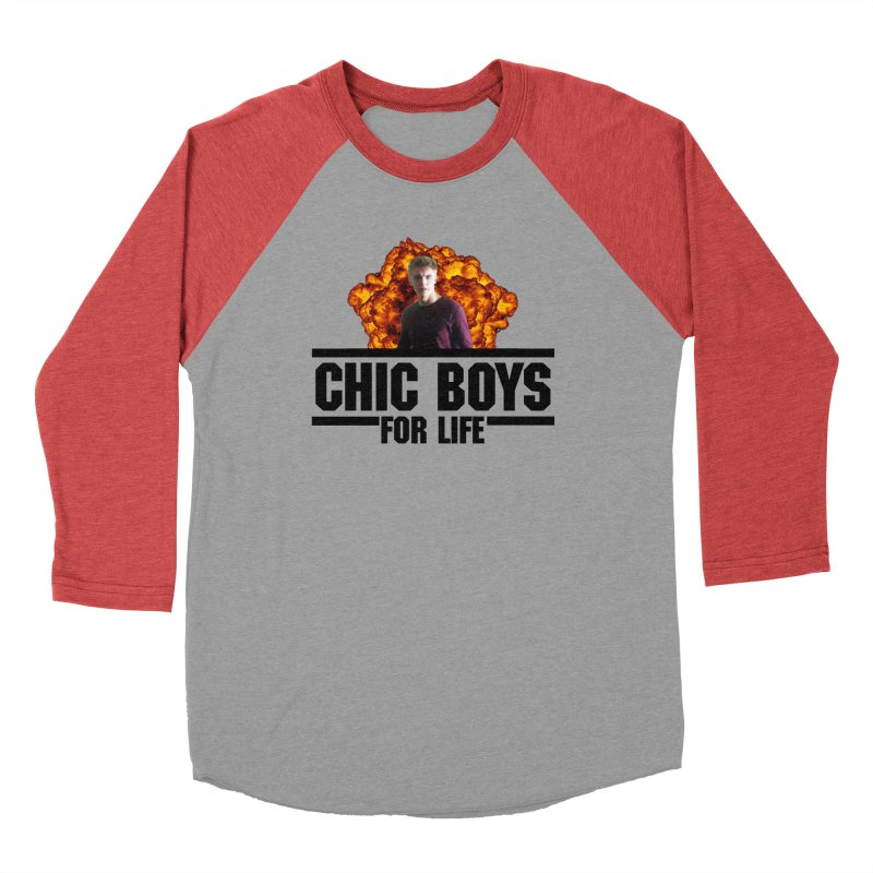 Chic Boys For Life Men's Longsleeve T-Shirt by Comic Book Club Official Shop