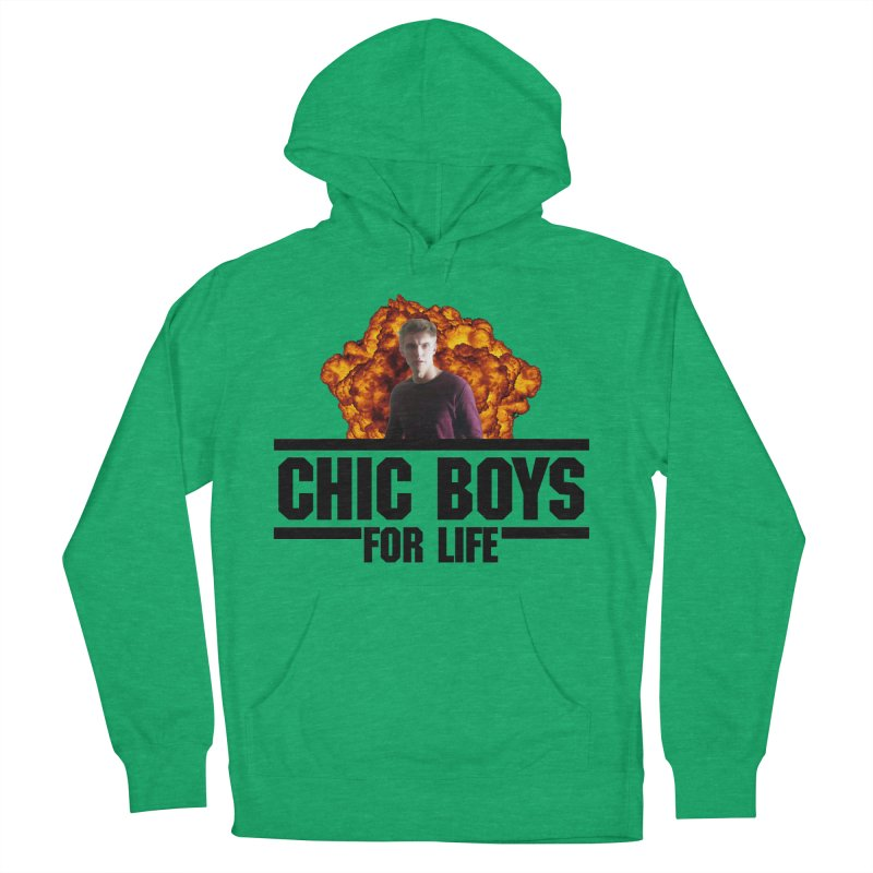 Chic Boys For Life Women's French Terry Pullover Hoody by Comic Book Club Official Shop