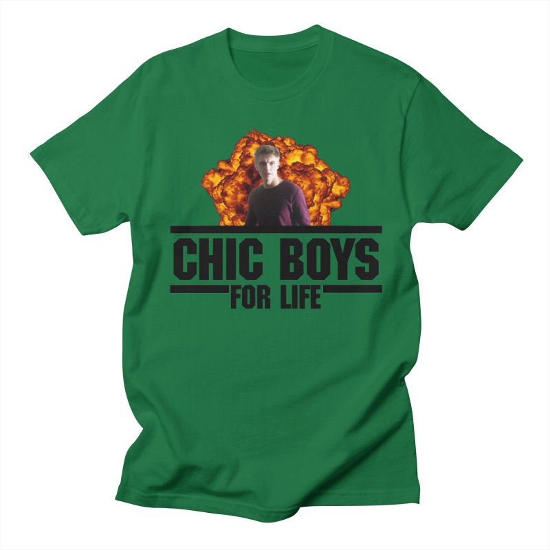 Chic Boys For Life Men's Regular T-Shirt by Comic Book Club Official Shop