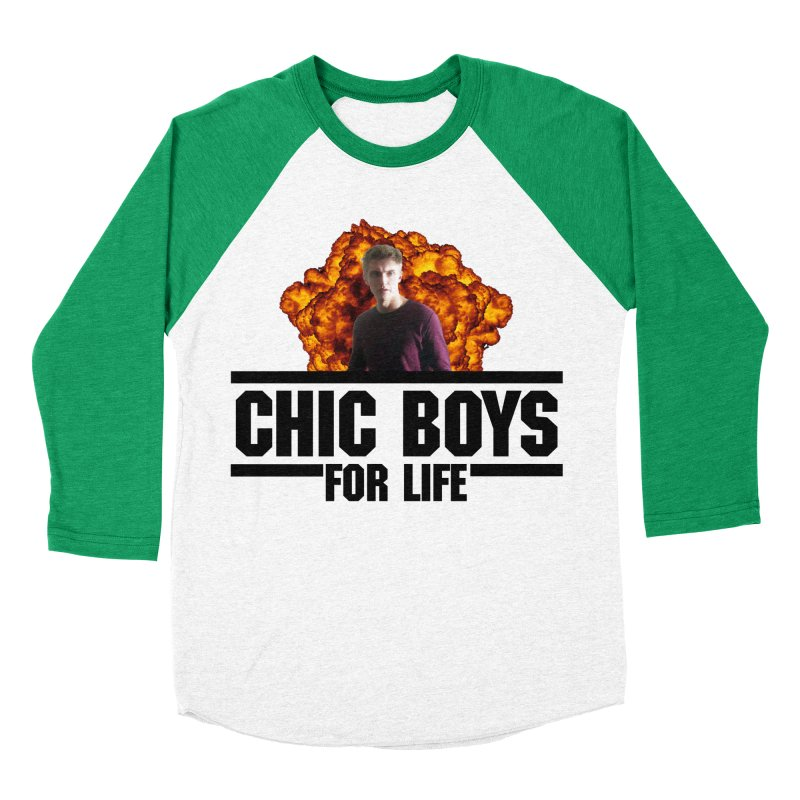 Chic Boys For Life Women's Baseball Triblend Longsleeve T-Shirt by Comic Book Club Official Shop