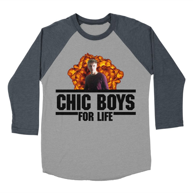 Chic Boys For Life Men's Baseball Triblend Longsleeve T-Shirt by Comic Book Club Official Shop