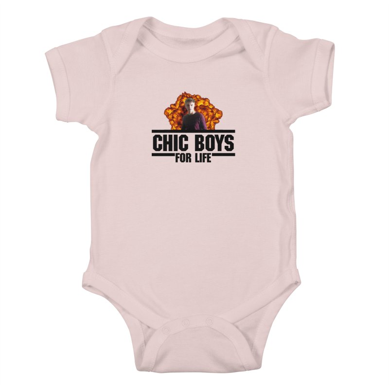 Chic Boys For Life Kids Baby Bodysuit by Comic Book Club Official Shop