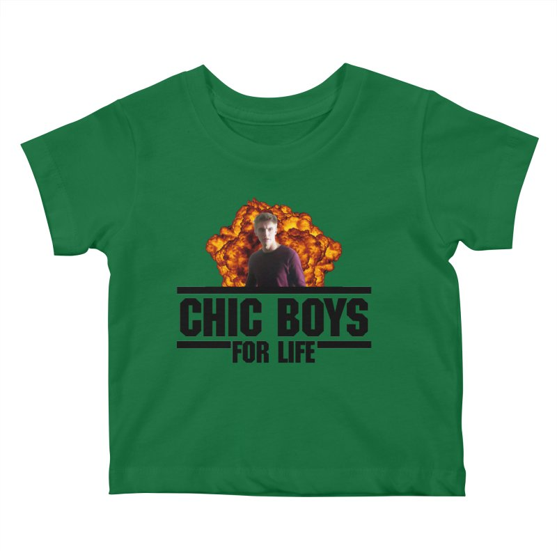 Chic Boys For Life Kids Baby T-Shirt by Comic Book Club Official Shop