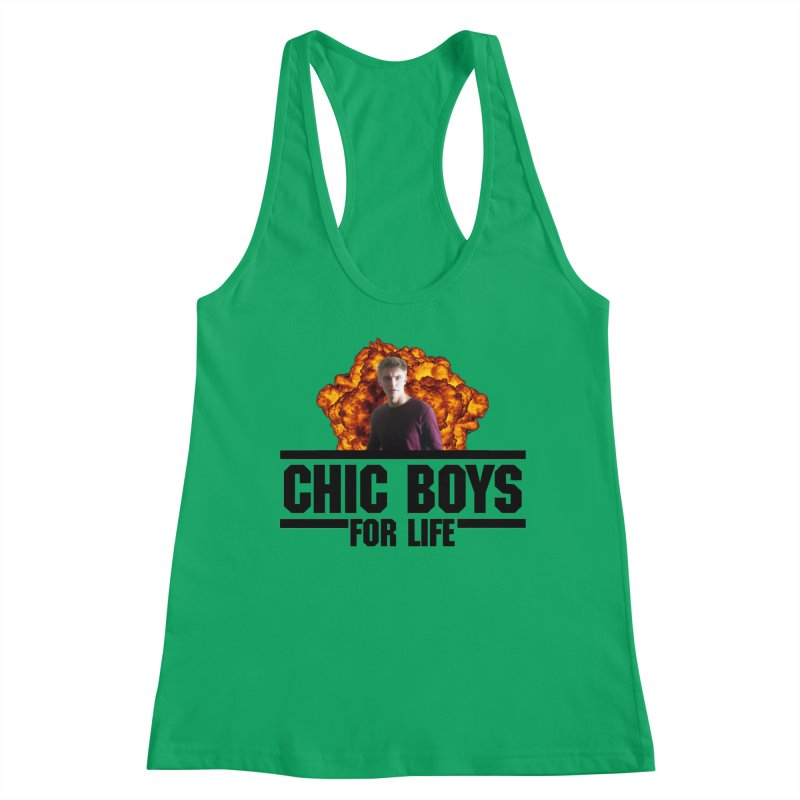 Chic Boys For Life Women's Tank by Comic Book Club Official Shop