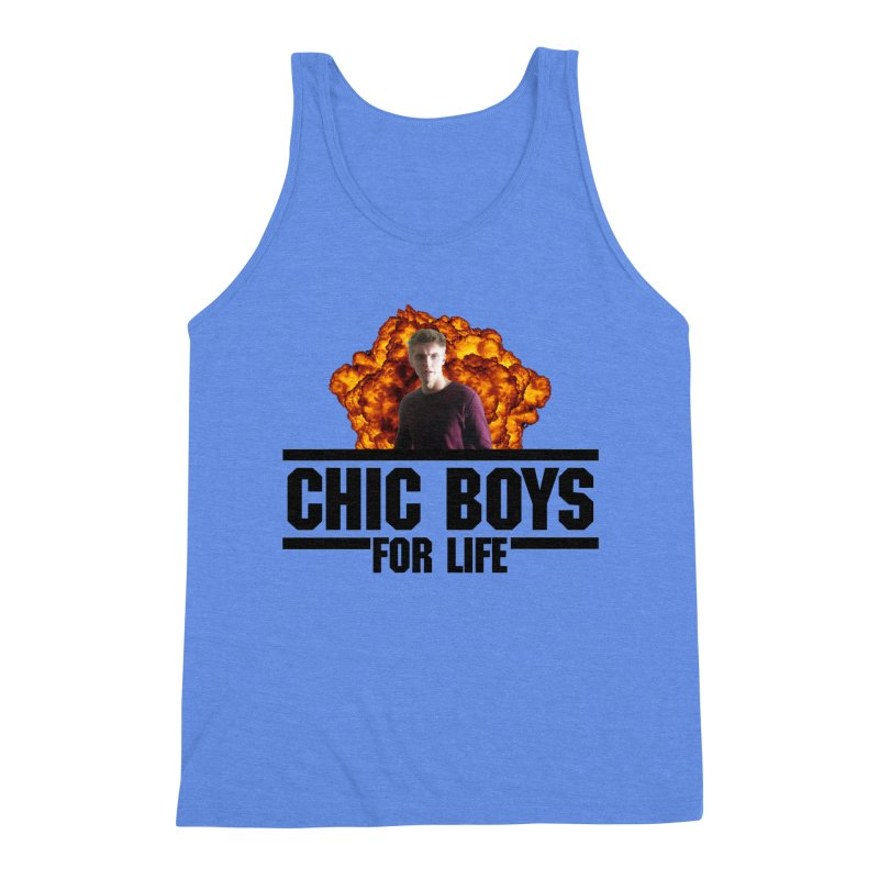 Chic Boys For Life Men's Triblend Tank by Comic Book Club Official Shop