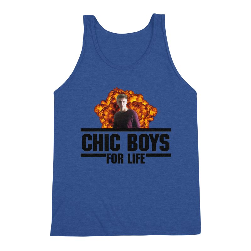 Chic Boys For Life Men's Tank by Comic Book Club Official Shop