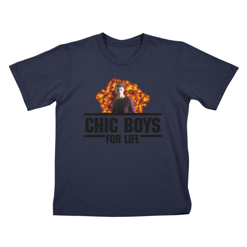 Chic Boys For Life Kids T-Shirt by Comic Book Club Official Shop
