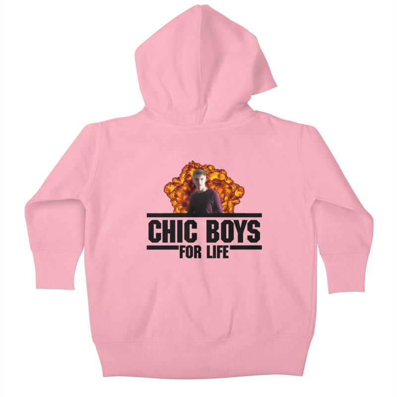 Chic Boys For Life Kids Baby Zip-Up Hoody by Comic Book Club Official Shop