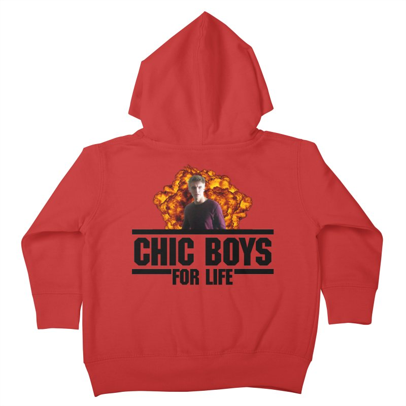Chic Boys For Life Kids Toddler Zip-Up Hoody by Comic Book Club Official Shop