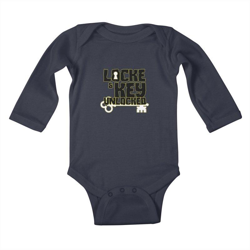 Locke & Key: Unlocked Kids Baby Longsleeve Bodysuit by Comic Book Club Official Shop