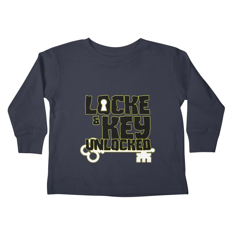 Locke & Key: Unlocked Kids Toddler Longsleeve T-Shirt by Comic Book Club Official Shop