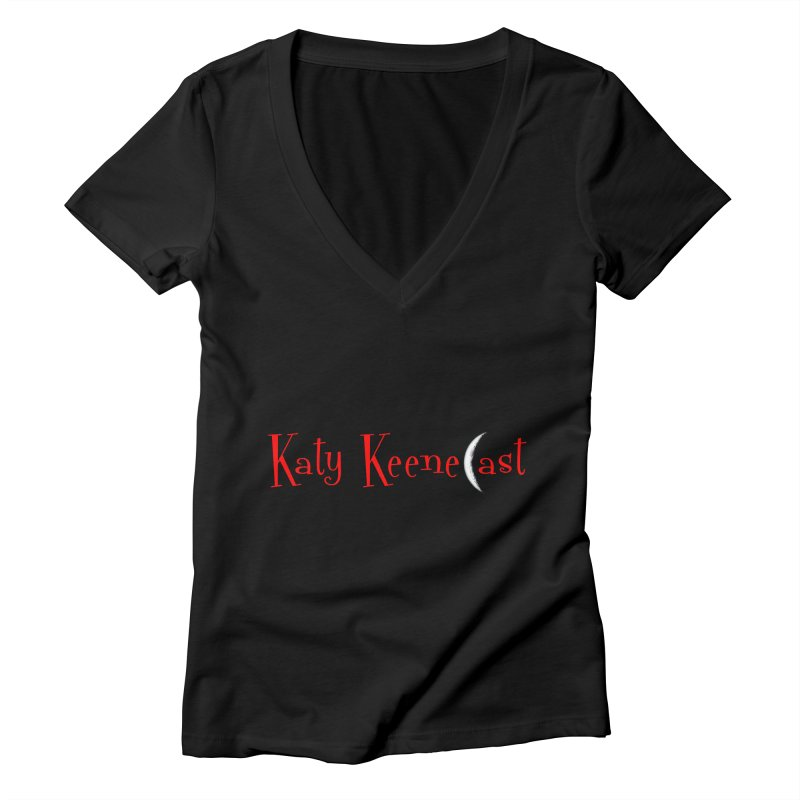 Katy KeeneCast Logo Women's V-Neck by Comic Book Club Official Shop
