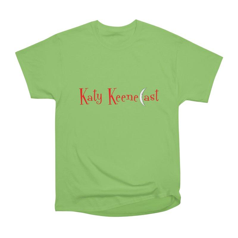 Katy KeeneCast Logo Women's Heavyweight Unisex T-Shirt by Comic Book Club Official Shop