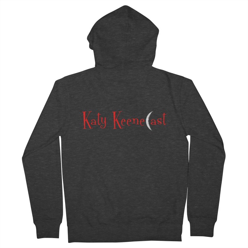 Katy KeeneCast Logo Men's French Terry Zip-Up Hoody by Comic Book Club Official Shop