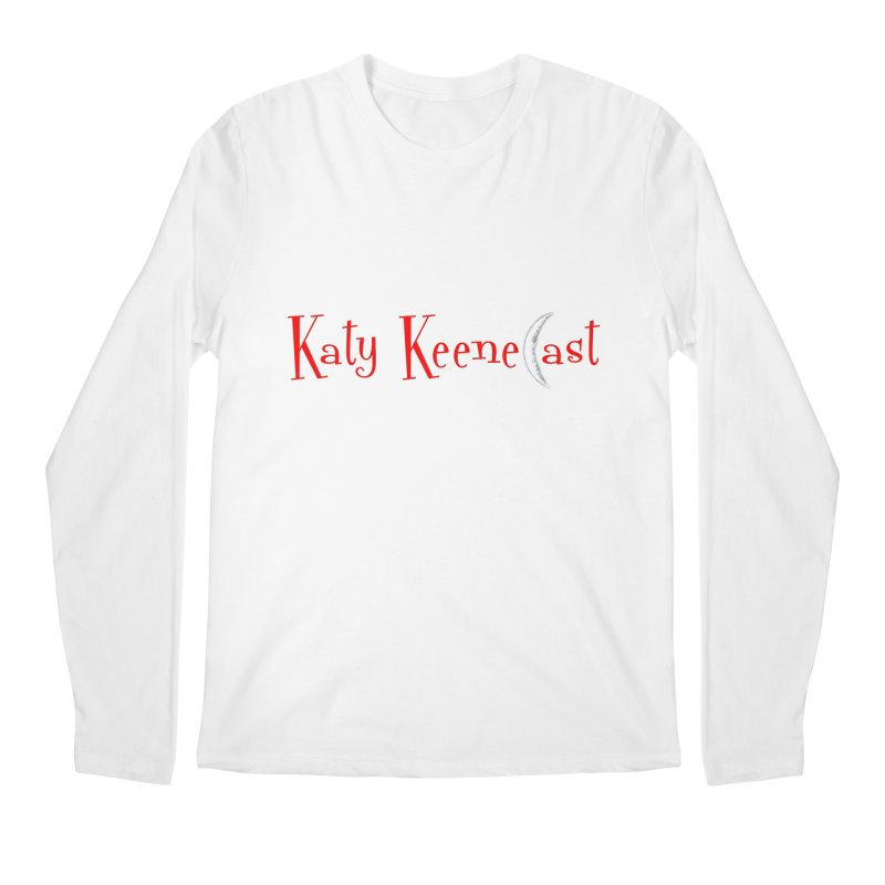 Katy KeeneCast Logo Men's Regular Longsleeve T-Shirt by Comic Book Club Official Shop