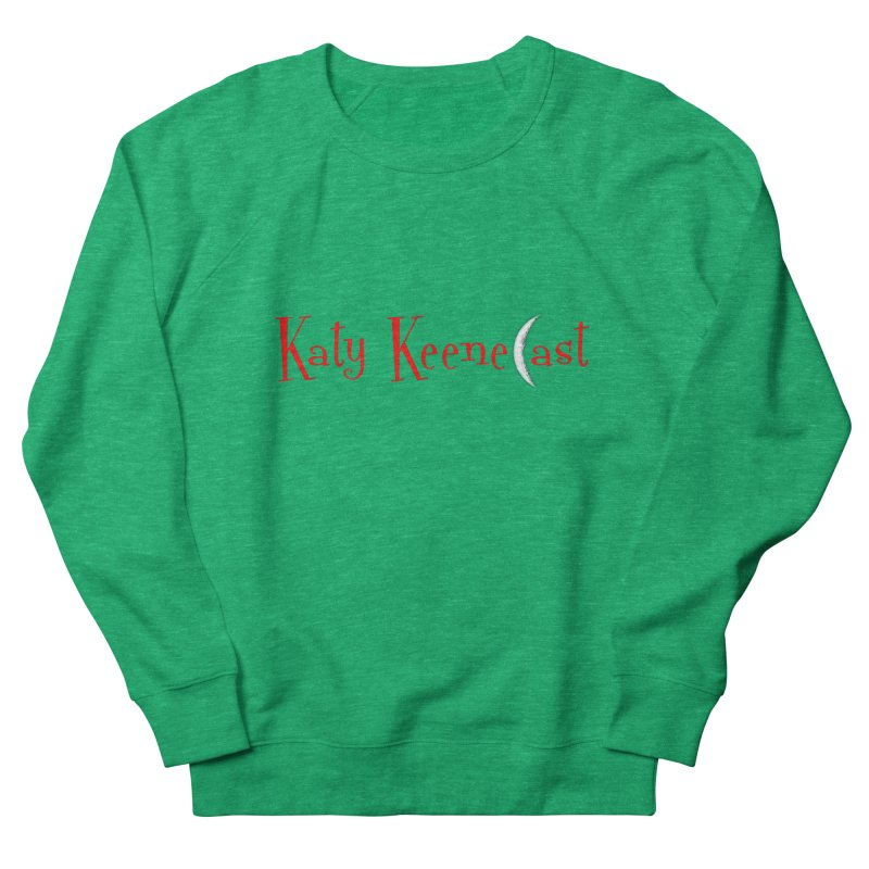 Katy KeeneCast Logo Men's French Terry Sweatshirt by Comic Book Club Official Shop