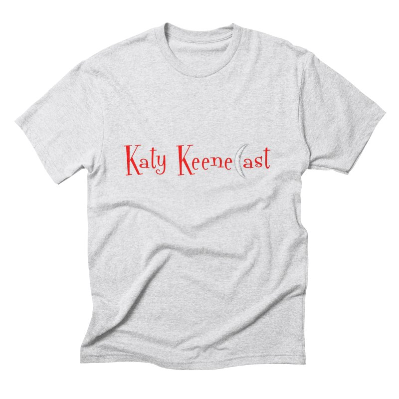 Katy KeeneCast Logo Men's Triblend T-Shirt by Comic Book Club Official Shop