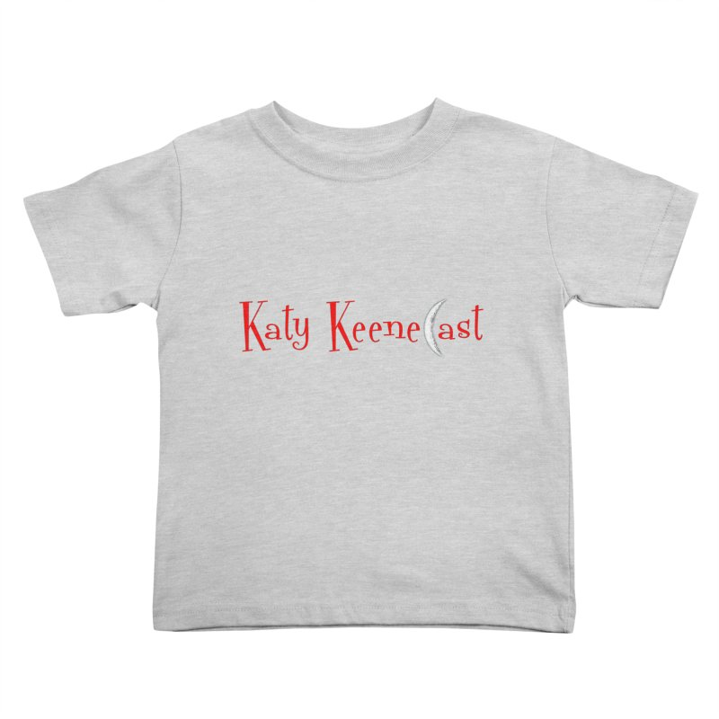 Katy KeeneCast Logo Kids Toddler T-Shirt by Comic Book Club Official Shop