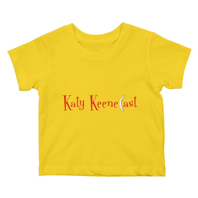 Katy KeeneCast Logo Kids Baby T-Shirt by Comic Book Club Official Shop