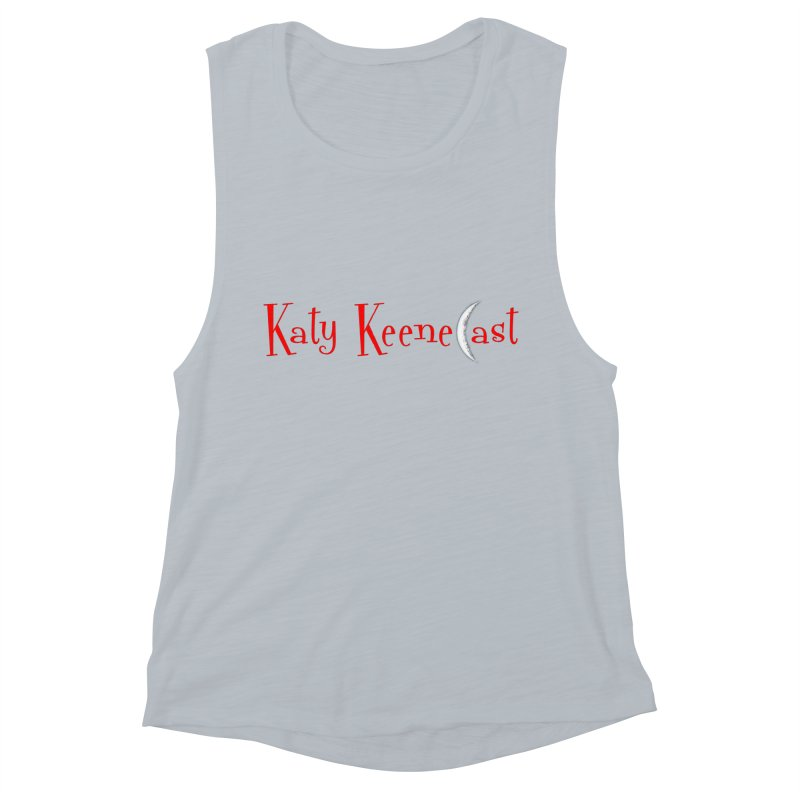 Katy KeeneCast Logo Women's Muscle Tank by Comic Book Club Official Shop