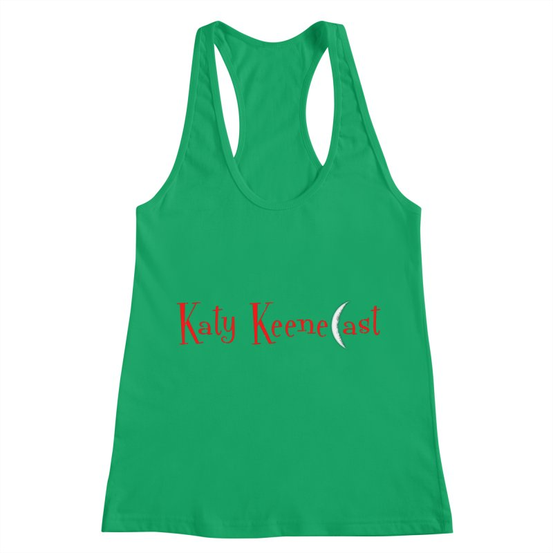 Katy KeeneCast Logo Women's Racerback Tank by Comic Book Club Official Shop