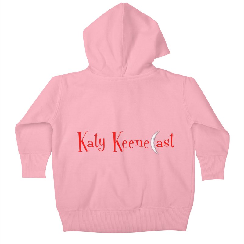 Katy KeeneCast Logo Kids Baby Zip-Up Hoody by Comic Book Club Official Shop