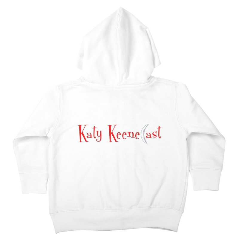 Katy KeeneCast Logo Kids Toddler Zip-Up Hoody by Comic Book Club Official Shop
