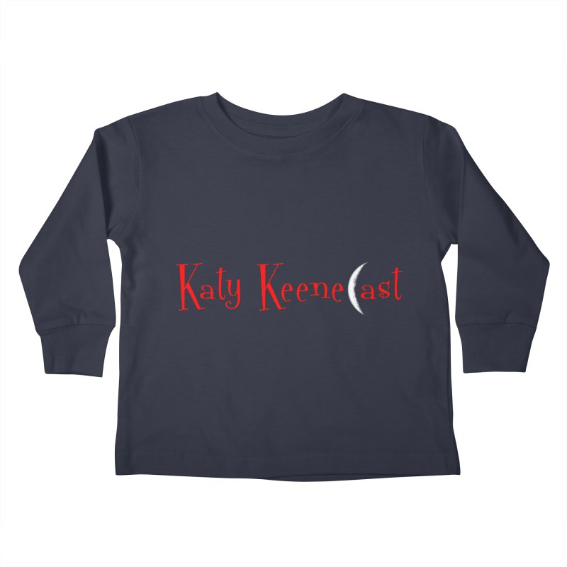 Katy KeeneCast Logo Kids Toddler Longsleeve T-Shirt by Comic Book Club Official Shop