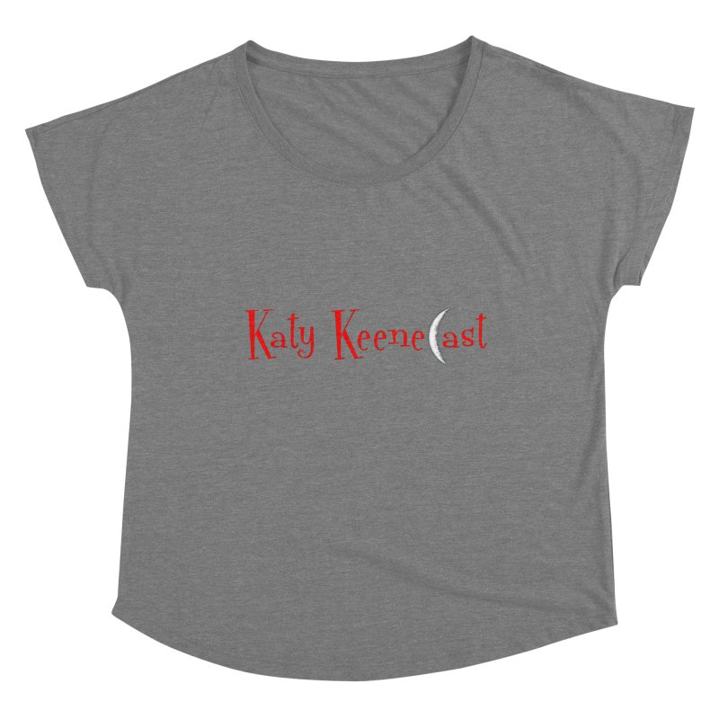 Katy KeeneCast Logo Women's Scoop Neck by Comic Book Club Official Shop
