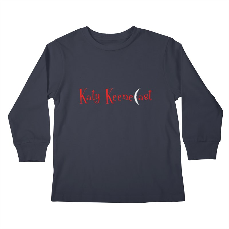 Katy KeeneCast Logo Kids Longsleeve T-Shirt by Comic Book Club Official Shop
