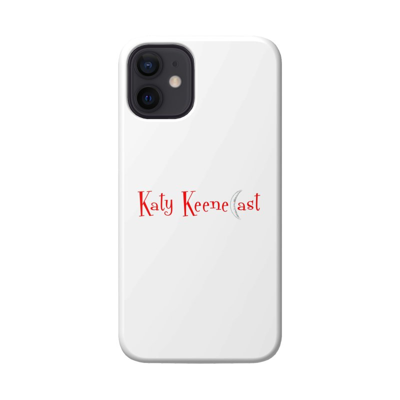 Katy KeeneCast Logo Accessories Phone Case by Comic Book Club Official Shop