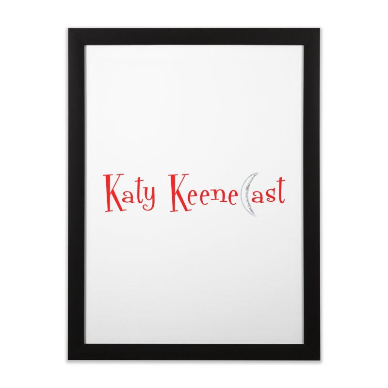Katy KeeneCast Logo Home Framed Fine Art Print by Comic Book Club Official Shop