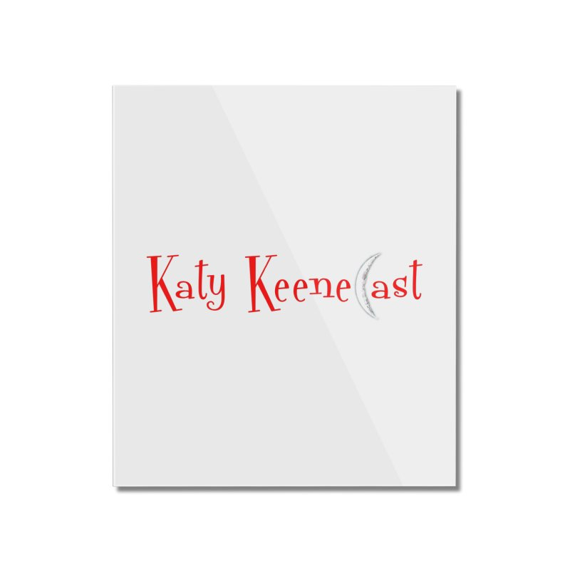Katy KeeneCast Logo Home Mounted Acrylic Print by Comic Book Club Official Shop
