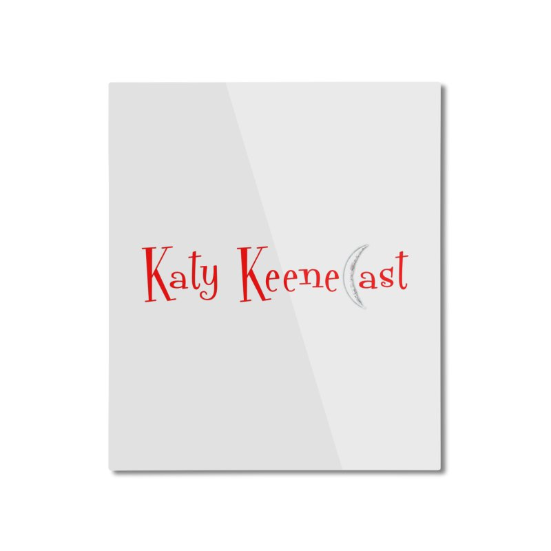 Katy KeeneCast Logo Home Mounted Aluminum Print by Comic Book Club Official Shop