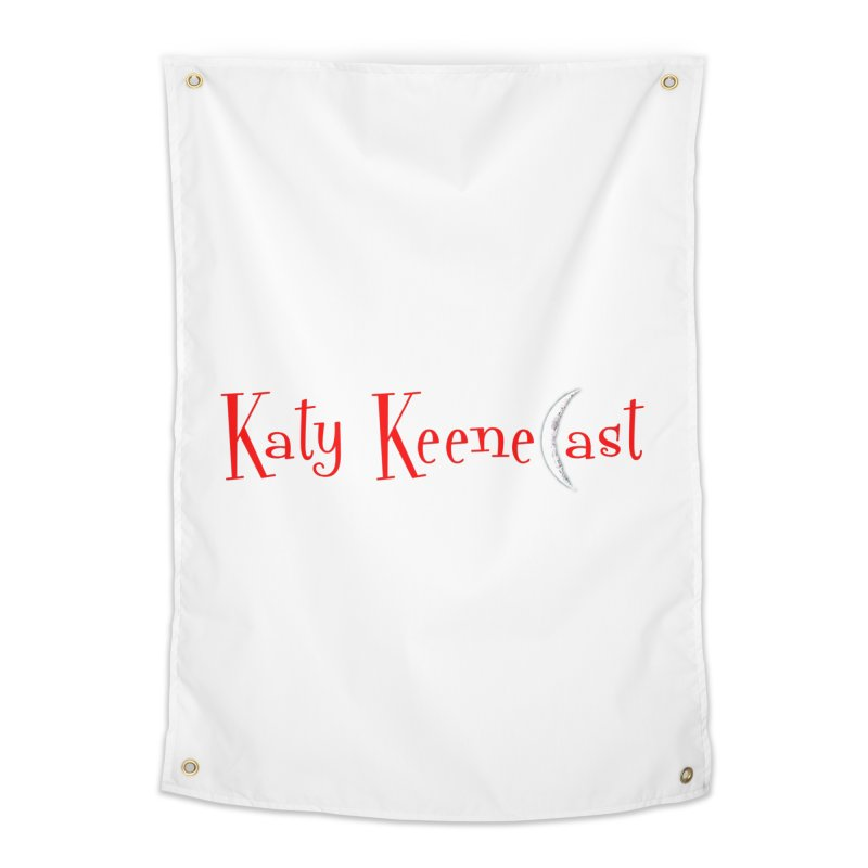 Katy KeeneCast Logo Home Tapestry by Comic Book Club Official Shop