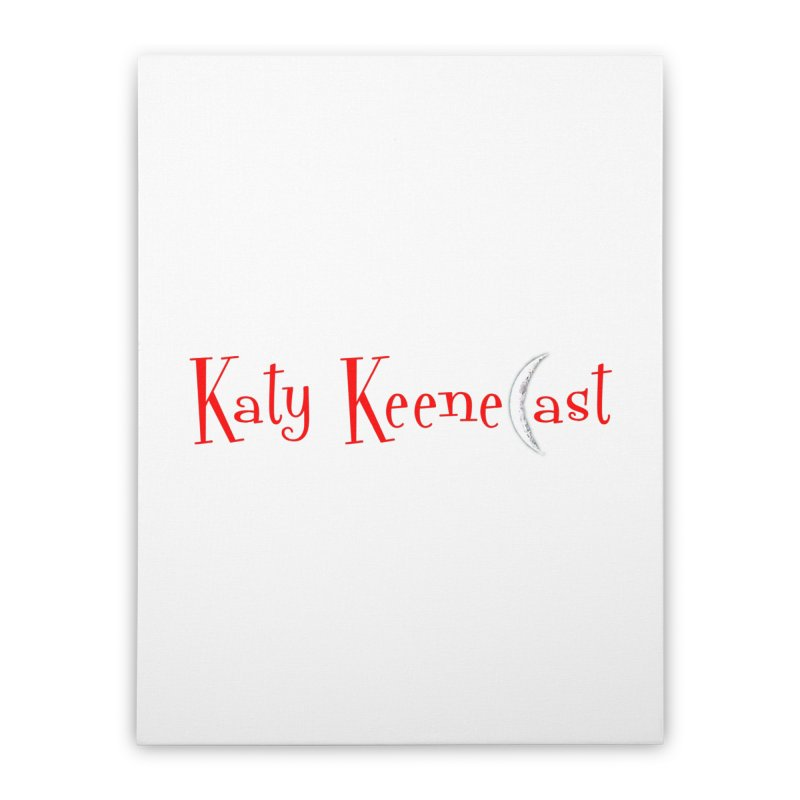Katy KeeneCast Logo Home Stretched Canvas by Comic Book Club Official Shop