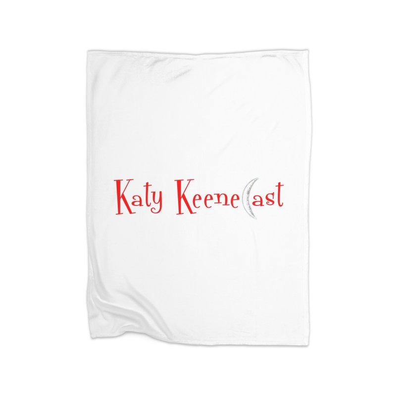 Katy KeeneCast Logo Home Fleece Blanket Blanket by Comic Book Club Official Shop