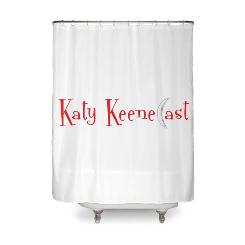 Katy KeeneCast Logo Home Shower Curtain by Comic Book Club Official Shop