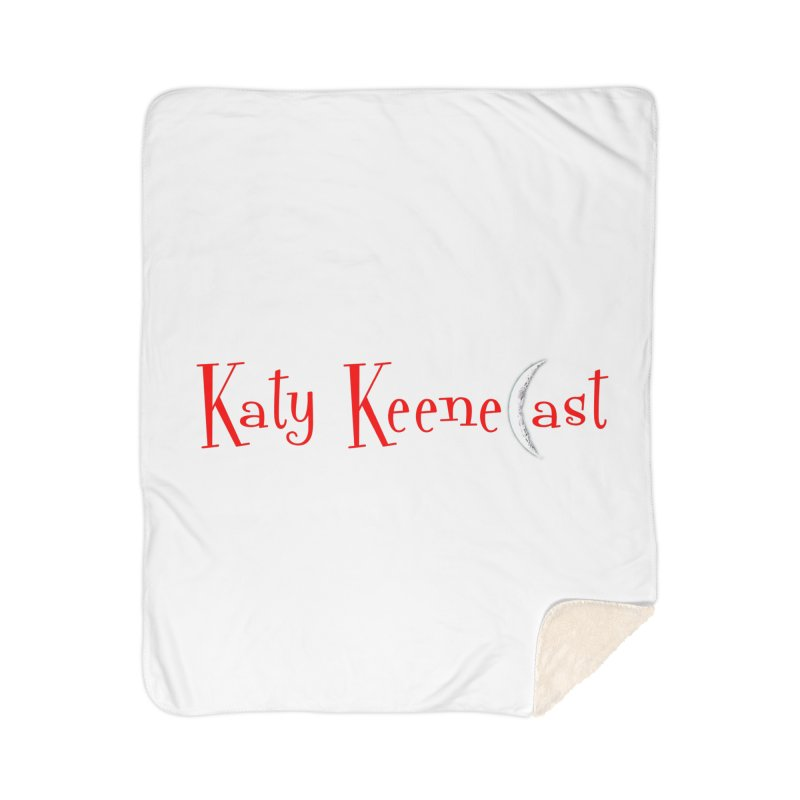 Katy KeeneCast Logo Home Blanket by Comic Book Club Official Shop
