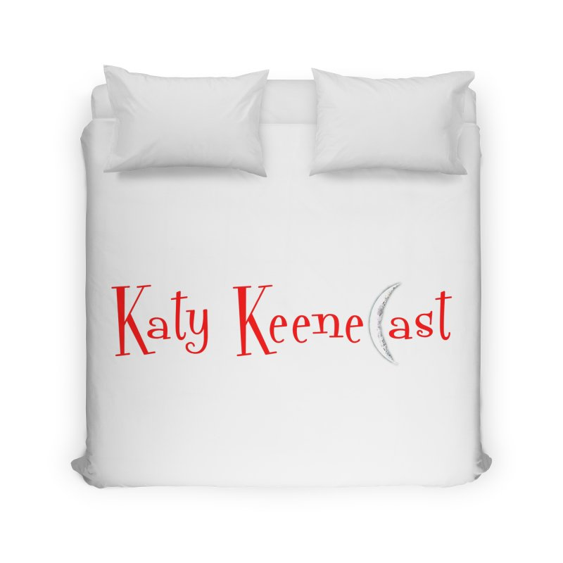Katy KeeneCast Logo Home Duvet by Comic Book Club Official Shop